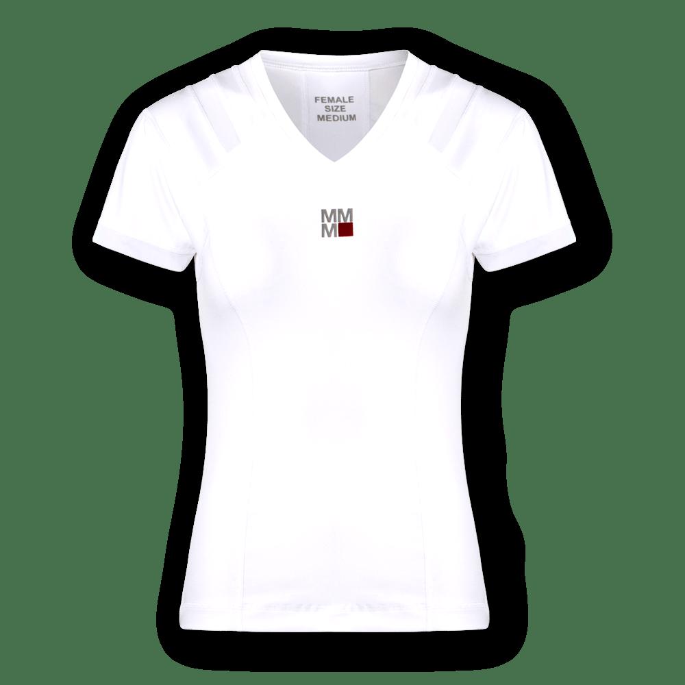holdningstrøje hvid kvinder Master Core