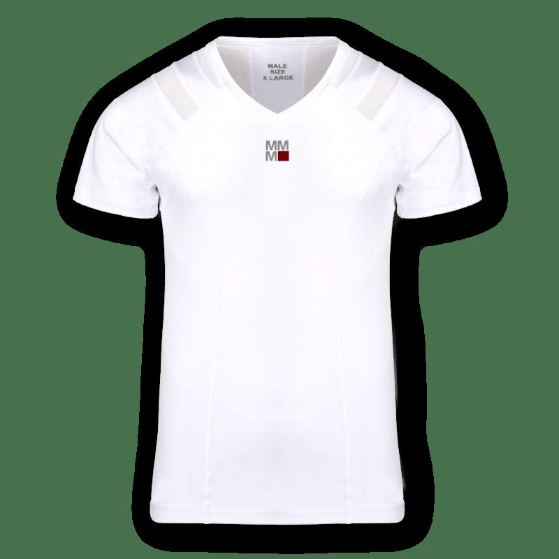 Holdningstrøje i hvid